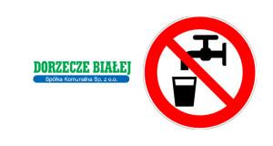 Przerwa w dostawie wody z wodociągu publicznego 9 października