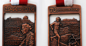 Wbiegł na Monte Cassino w 70 rocznicę Bitwy!
