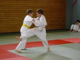 Zajęcia judo w ZS Burzyn