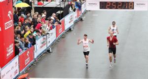 Bardzo dobry występ Jarka w Orlen Warsaw Maraton!
