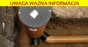 Spotkanie nt. przyłączy nowej sieci kanalizacyjnej!