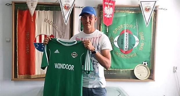Krzysztof Ropski zawodnikiem II ligowego Radomiaka Radom