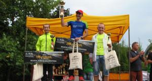Podium naszych zawodników w I Wadowickim półmaratonie górskim