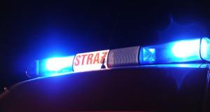 Akcja straży pożarnej w Burzynie.