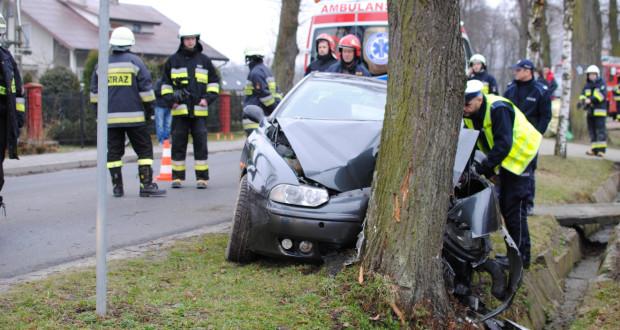 Wypadek w Burzynie