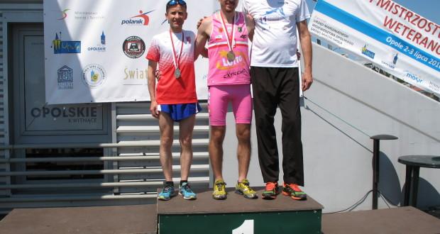 Robert Makowiec ze srebrny medal MPWLA w Opolu.