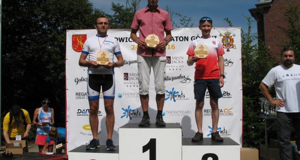 Robert M. drugim zawodnikiemII Wadowickiego półmaratonu górskiego.