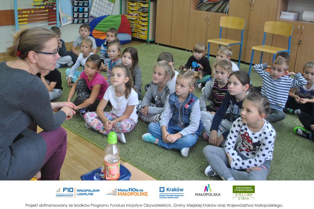 Warsztaty nt. zdrowego odżywiania dla dzieci z SP w Burzynie