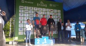Duży sukces Roberta MAKOWCA w biegach w KRAKOWIE.
